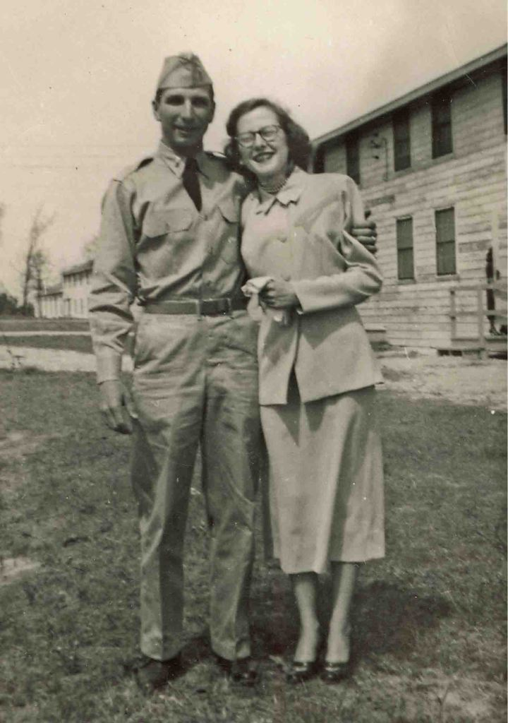 Jimmy & Elsie Warnock around 1953