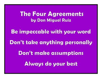 Four Agreements EHS
