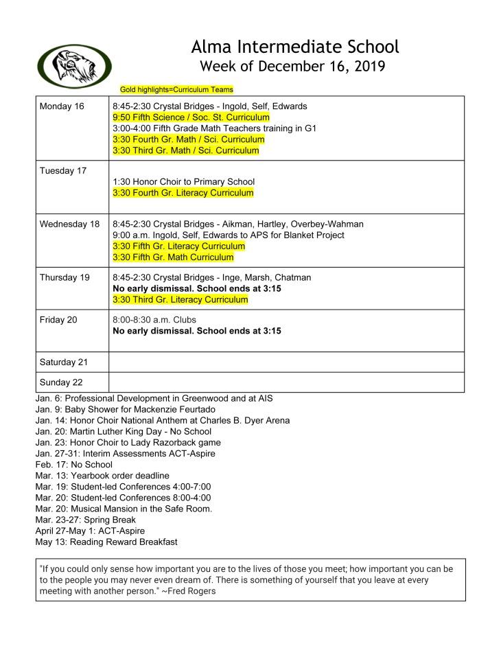 Calendar 121619 Parents -1